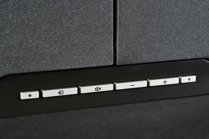 klipsch hd theater sb  review soundbar controls macro