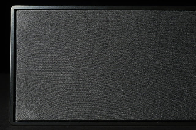 klipsch hd theater sb  soundbar grill