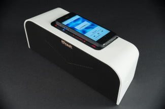 Klipsch KMC-1 speaker top offset phone 2