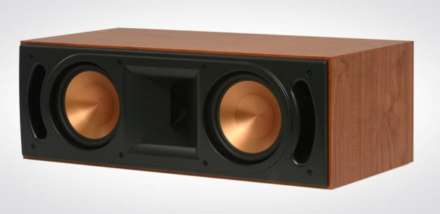 Klipsch RF 62 II Home Theater System Review center channel speaker no grill angle