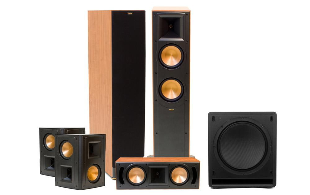 klipsch rf 62 ii review home theater system digital trends. Black Bedroom Furniture Sets. Home Design Ideas