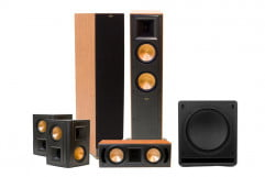 klipsch rf  ii review home theater system press