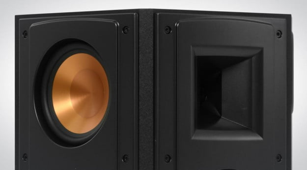 Klipsch RF 62 II Home Theater System Review RS 52 surround speaker no grill