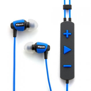 Klipsch S4i blue headphones