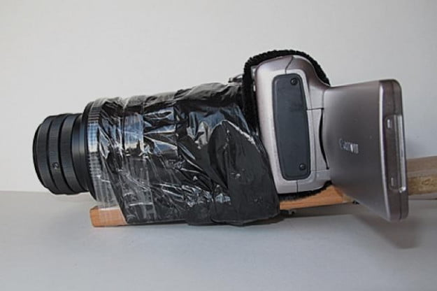 Kljatov's camera system. MacGyver would be proud.