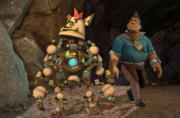 Knack---Robot-and-man