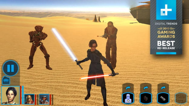 Knights of the Old Republic ipad - Best re-release