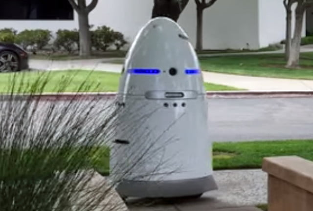 mit robots stores hotels parking lots knightscope k  security robot x