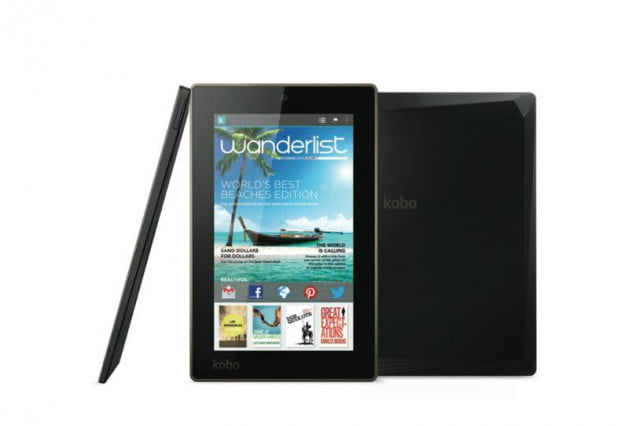 kobo unveils three reader centric tablets together with new aura e arc