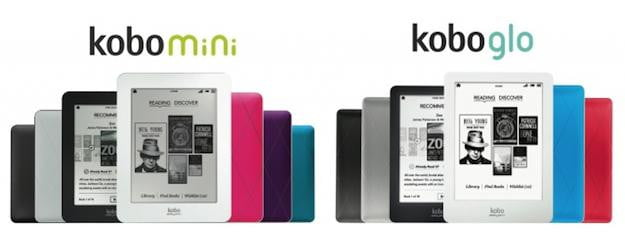Kobo Glo and Kobo Mini