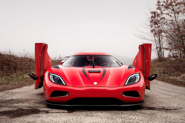 koenigsegg harvests thors lightning with the one  agera r