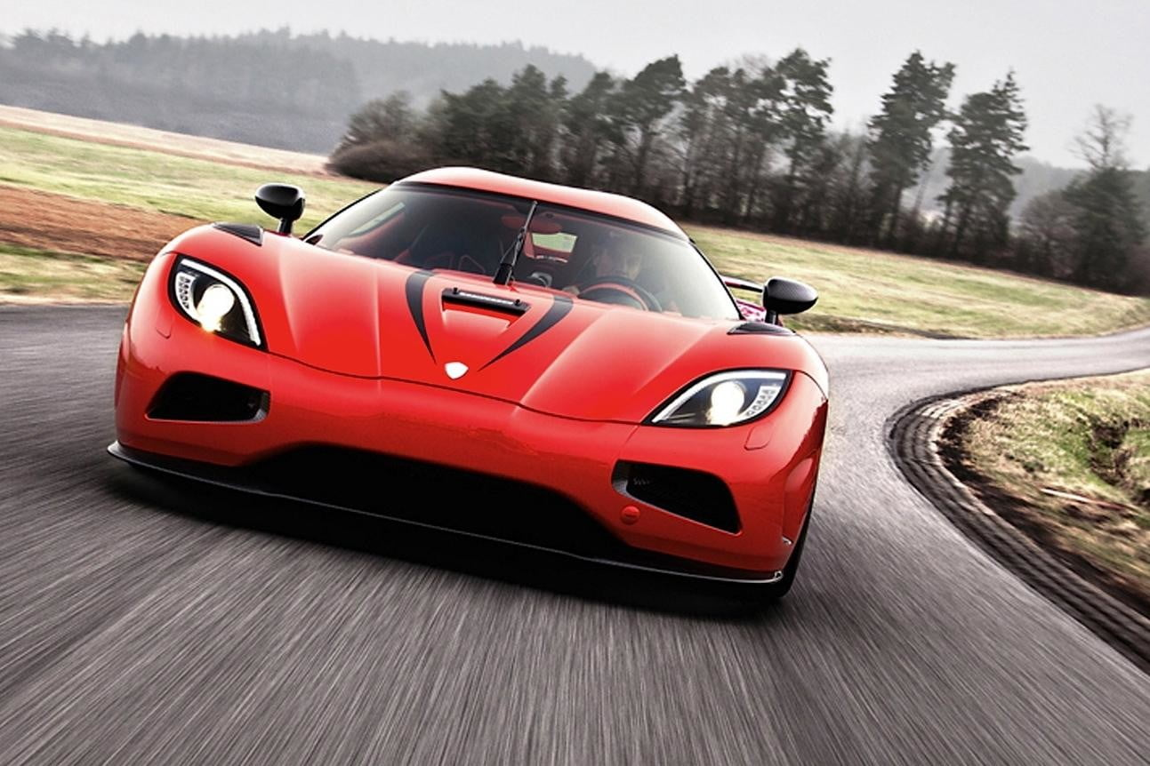 World S Fastest Car Koenigsegg Agera R