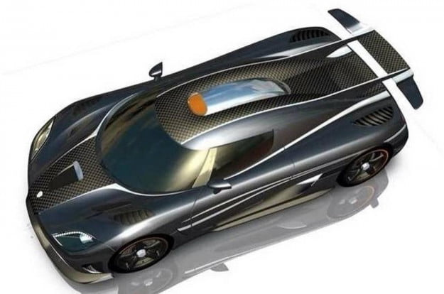 Koenigsegg One-1 render 1
