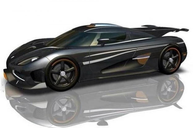 Koenigsegg One:1 render
