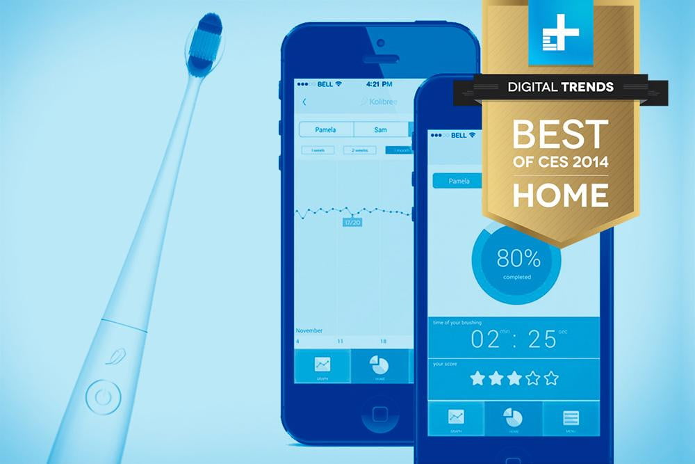 Kolibree Smart Toothbrush best of ces 2014