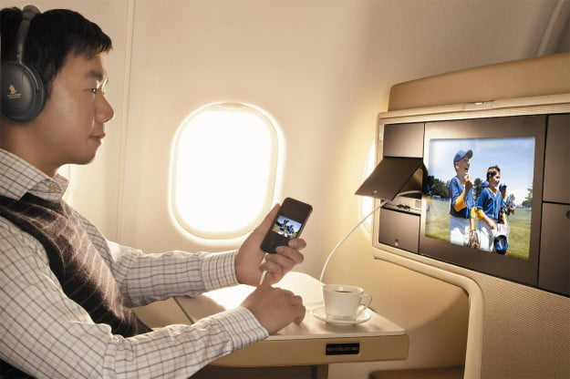 KrisWorld, Singapore Airlines' inflight entertainment system