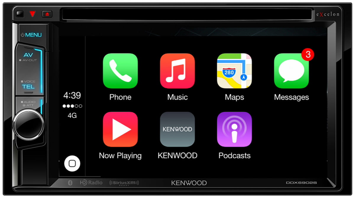 kenwood ddx  s and dx apple carplay receivers receiver