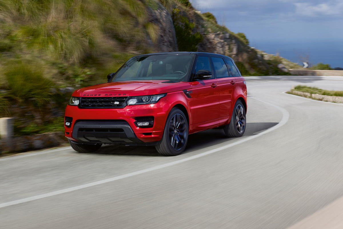 range rover sport hst official specs pictures