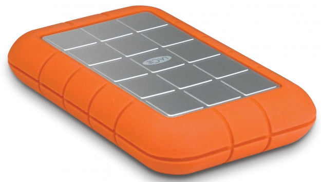 LaCie Rugged USB 3 External Hard Drive