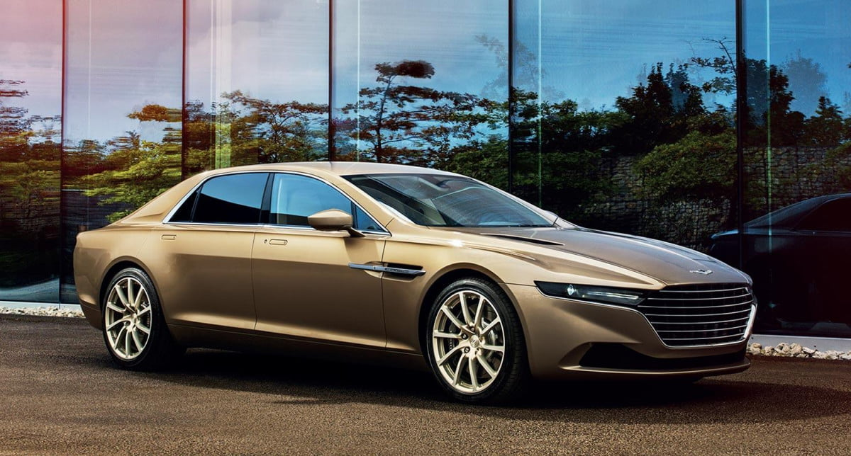 aston martin plans to change its full lineup by  lagonda
