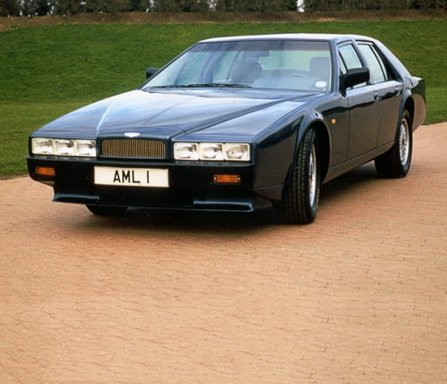 aston martin lagonda sedan reportedly in the works