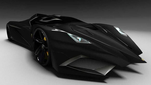 Lamborghini-Feruccio-Close-Black