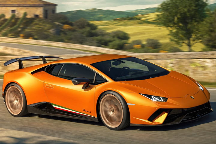 lamborghini huracan performante debuts geneva motor show news pictures. Black Bedroom Furniture Sets. Home Design Ideas