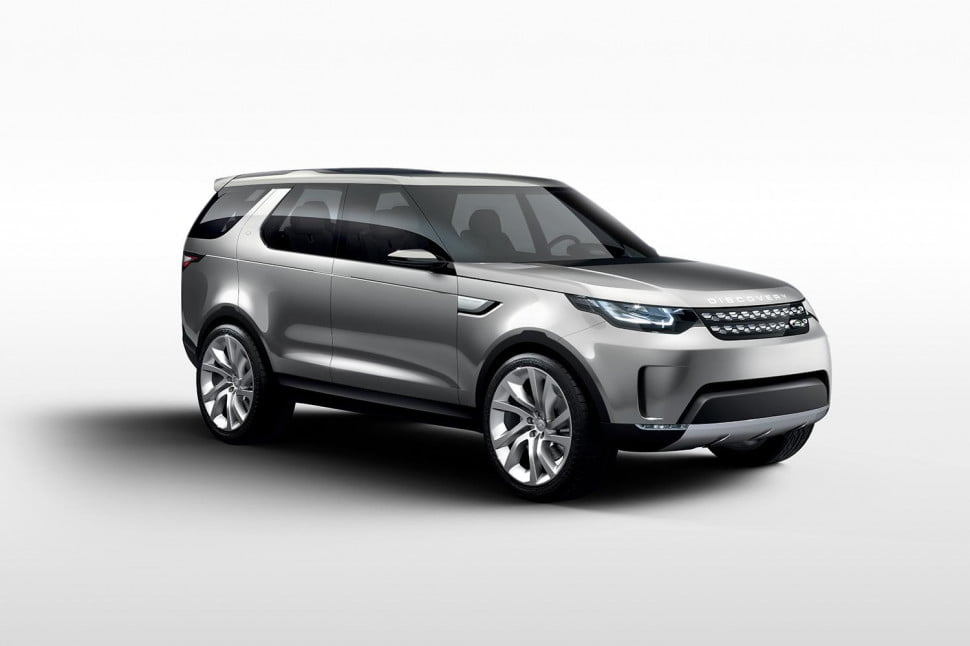 land rover discovery family could include at least three models concept vision  x c
