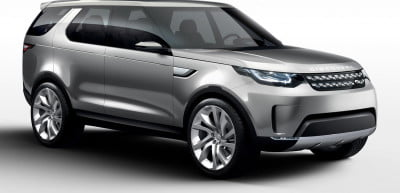 Land Rover's Discovery Vision Concept