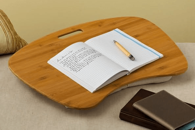 Bamboo Wood Contour Lap Desk