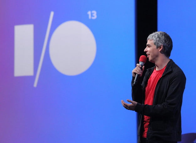 Larry Page at Google I/O 2013