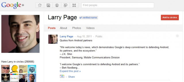 larry page google profile