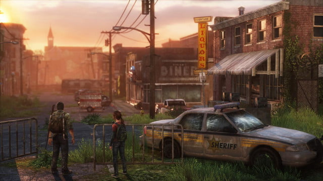 naughty dog shows off a slightly more whimsical alternate ending for the last of us  sunset