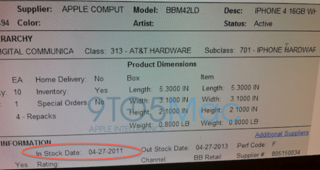 White iPhone 4 launch date