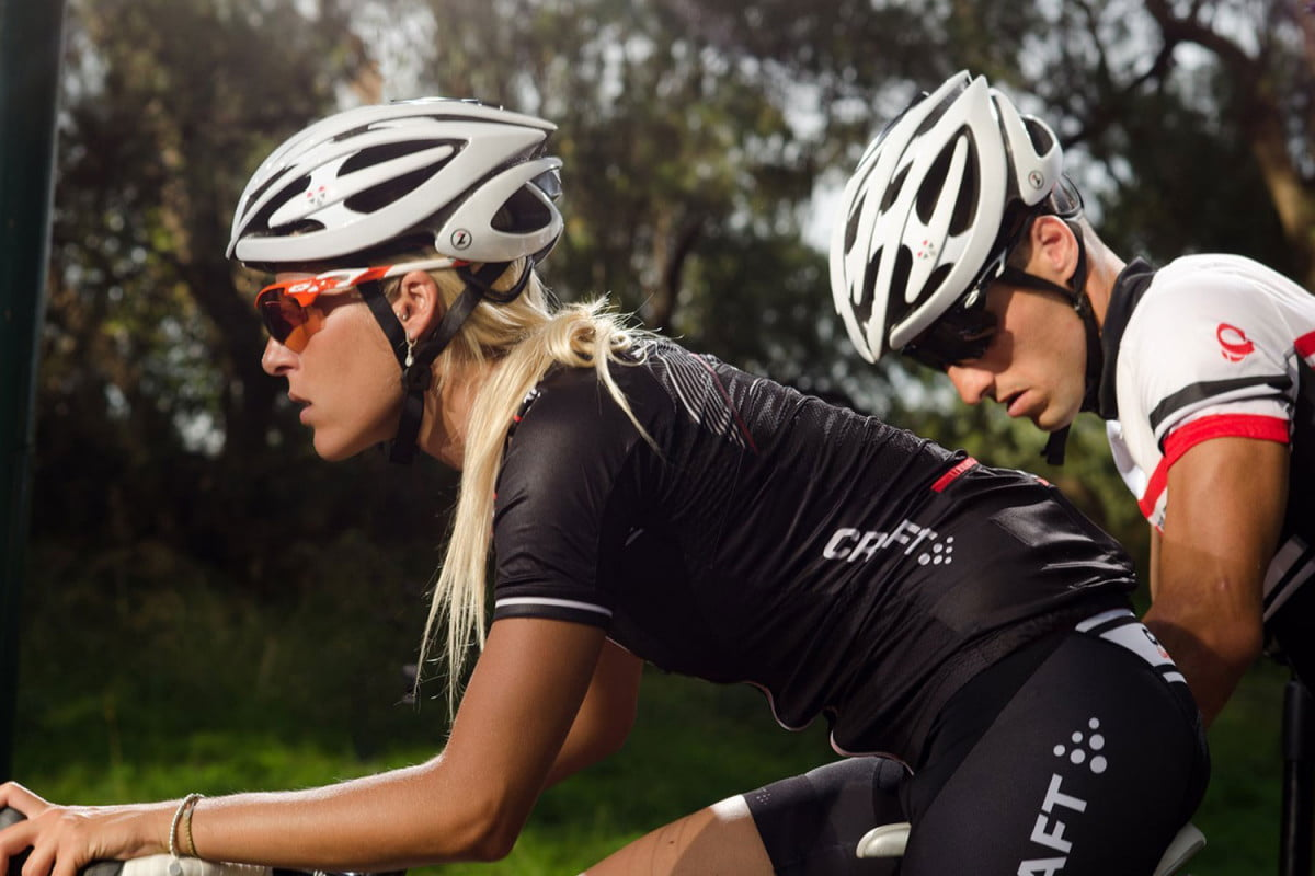 lifebeam and lazer sport smart helmets eurobike  bio sensing