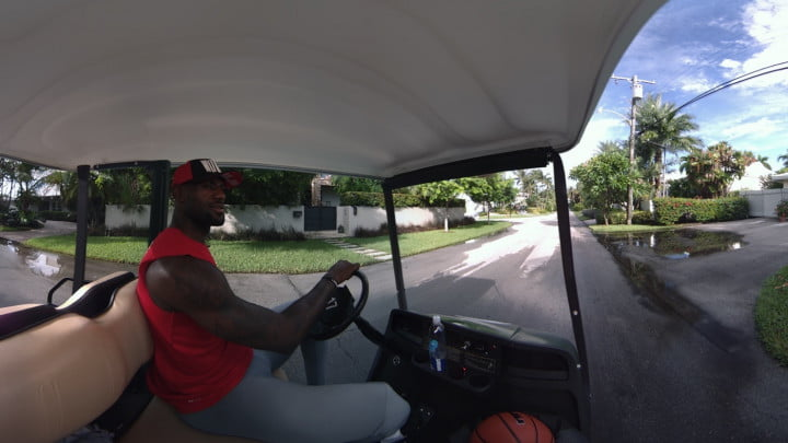 watch lebron james in a new vr experience lbj oculus store