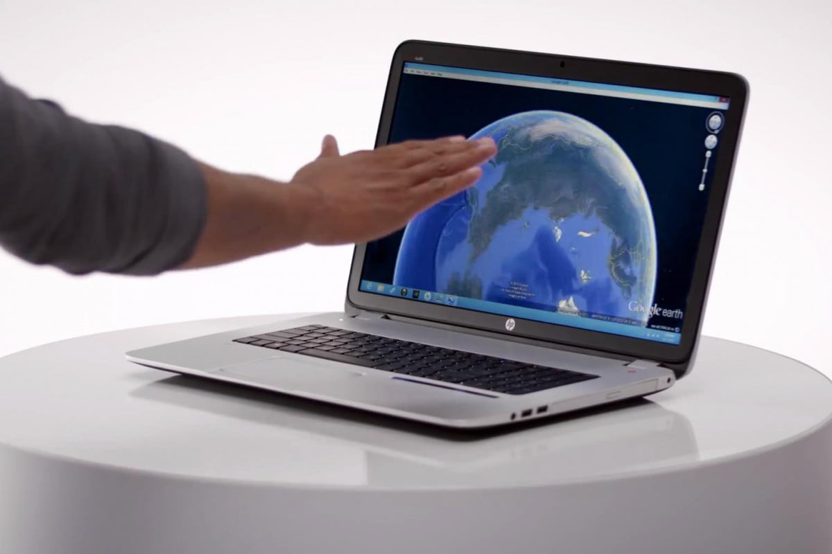 hp debuts first leap motion gesture control laptop