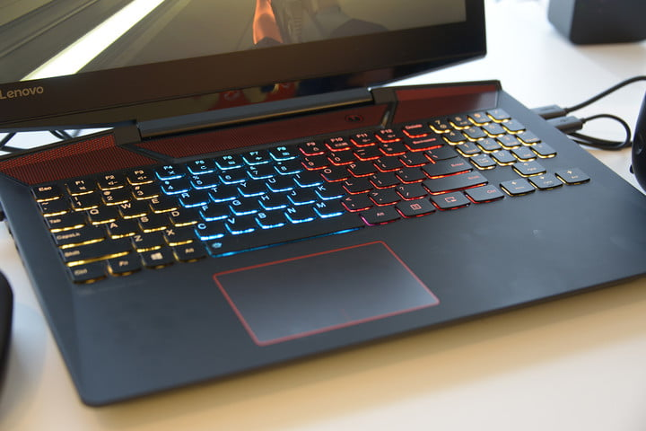 gaudy gaming laptops ces  legion