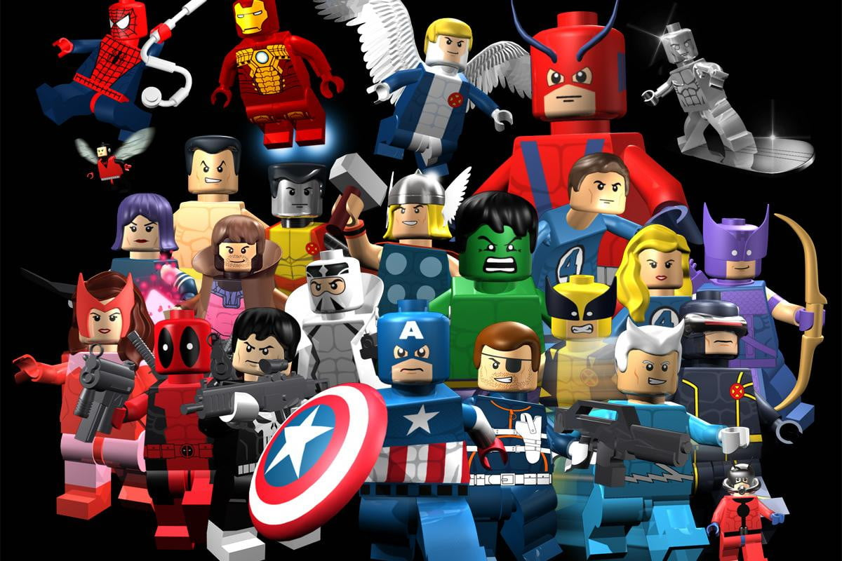 mighty heroes dinosaurs due lego video game treatment avengers