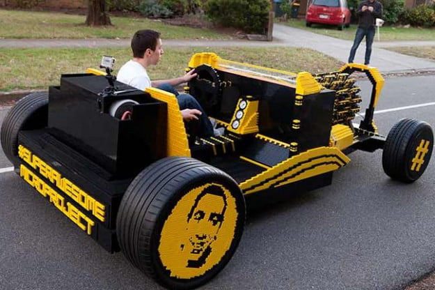 lego car project