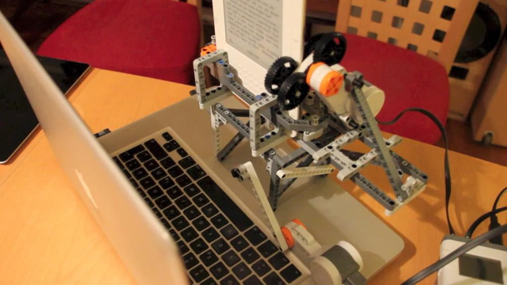 lego robot strips drm from ebooks kindle