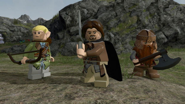 Lego Lord of the Rings 3