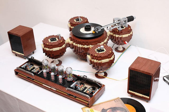 hayrobi the planet lego turntable tube amp record player by hayarobi