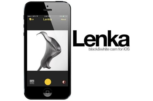 lenka photo app uses colorless images header