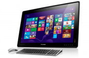 dell inspiron one  review lenovo ideacentre horizon press image
