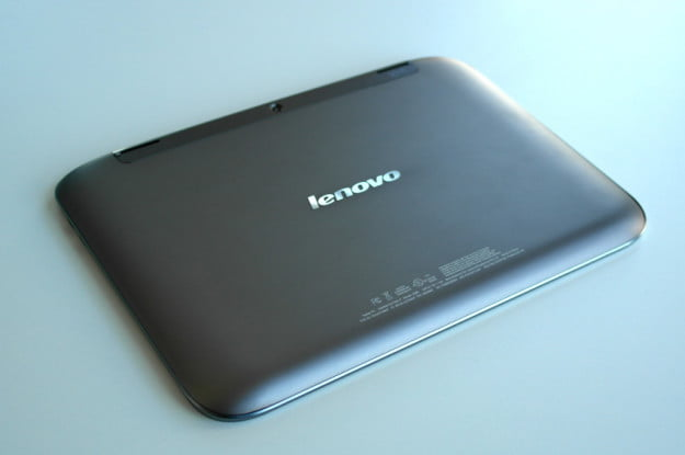 Lenovo Ideapad A2109 review back angle tablet