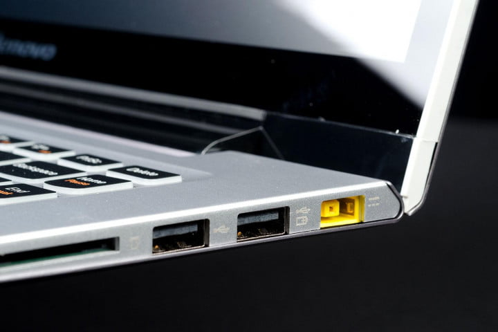 lenovo ideapad u  touch review right side ports