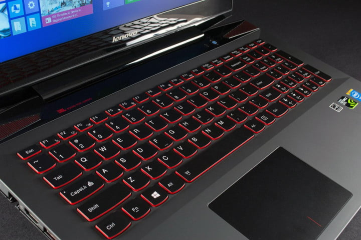lenovo ideapad y  p review keyboard