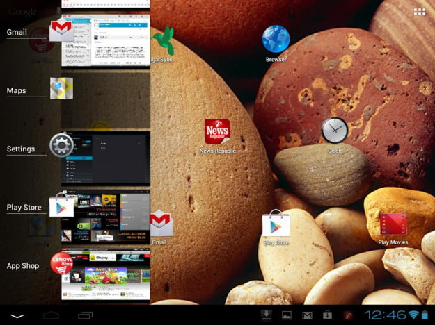 Lenovo IdeaTab S2109 review screenshot menu android 4.0 ice cream settings tablet