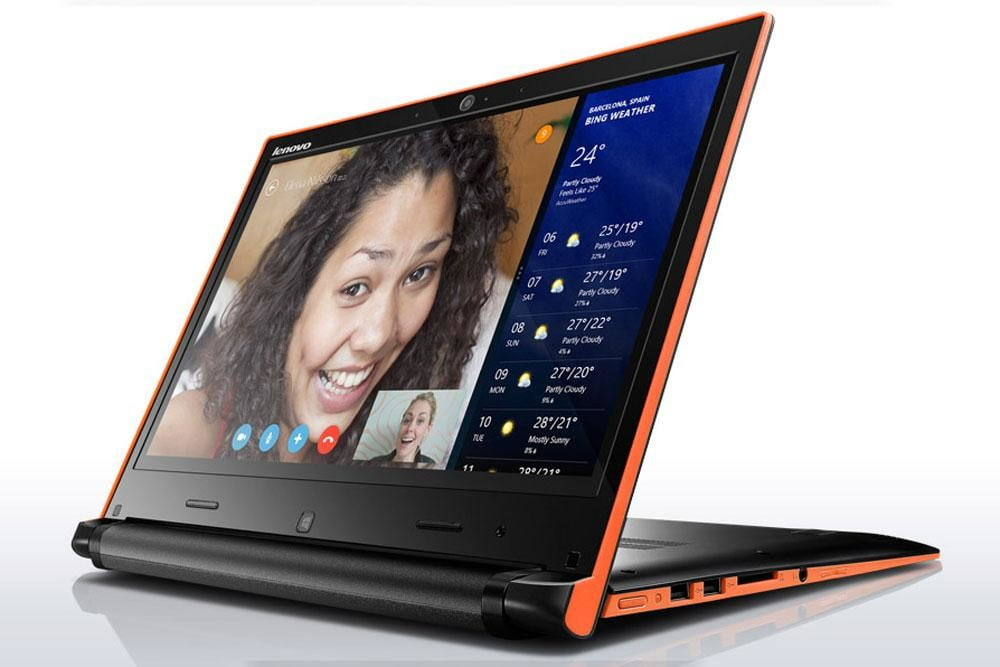 lenovo laptop flex 14 orange edge stand mode